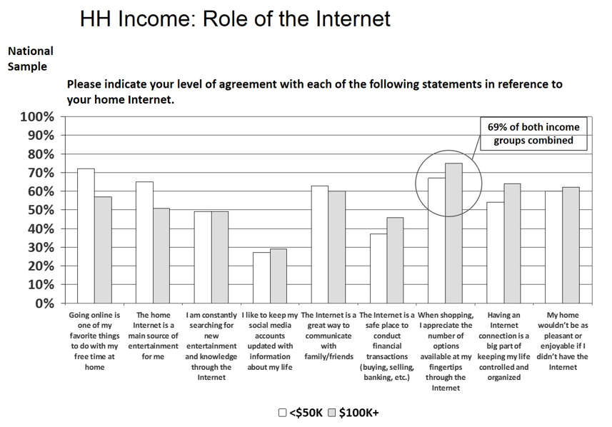 Role of the Internet Chart